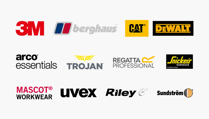 Wide range of brands available